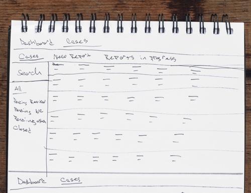Sketch of Case List